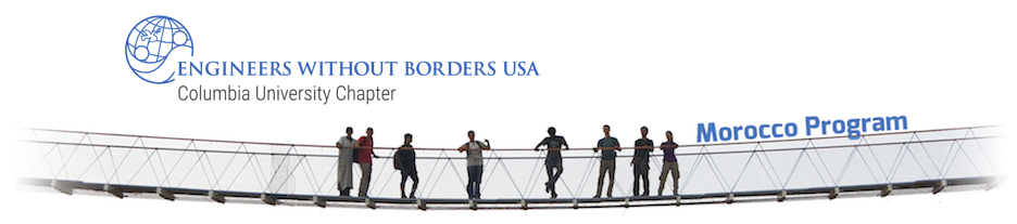 Engineers Without Borders-USA: Columbia University Student Chapter // Morocco Program